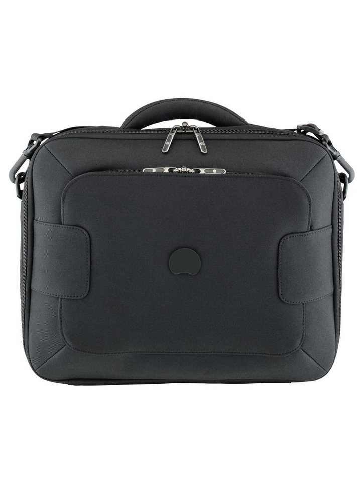DELSEY Businesstasche mit 14-Zoll Laptopfach und Schultergurt, »Tuileries« in schwarz