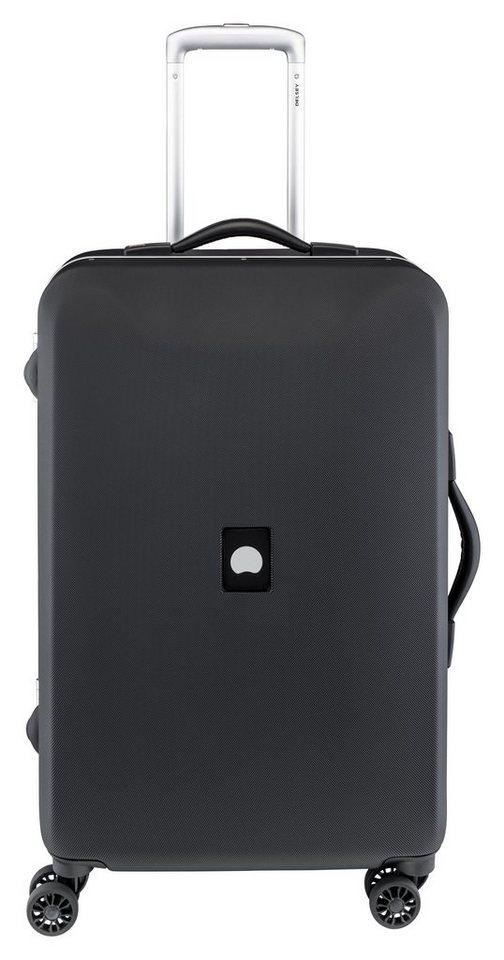 DELSEY Hartschalen Trolley mit 4 Rollen und TSA-Kombinationsschloss, »Honoré+« in schwarz