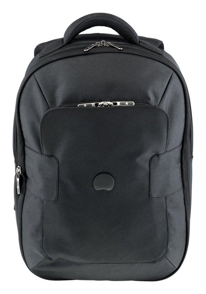 DELSEY Rucksack mit 15,6-Zoll Laptopfach, »Tuilerie« in schwarz