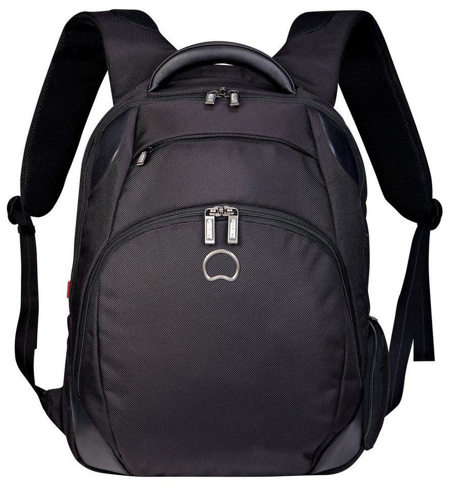 DELSEY Rucksack mit gepolstertem 15,6-Zoll Notebookfach, »Quarterback+« in schwarz