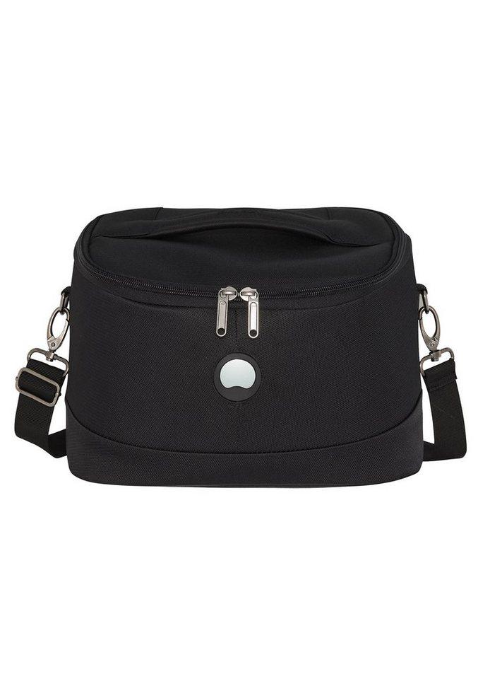 DELSEY Beauty Case mit verstellbarem Schultergurt , »U-Lite Classic« in schwarz