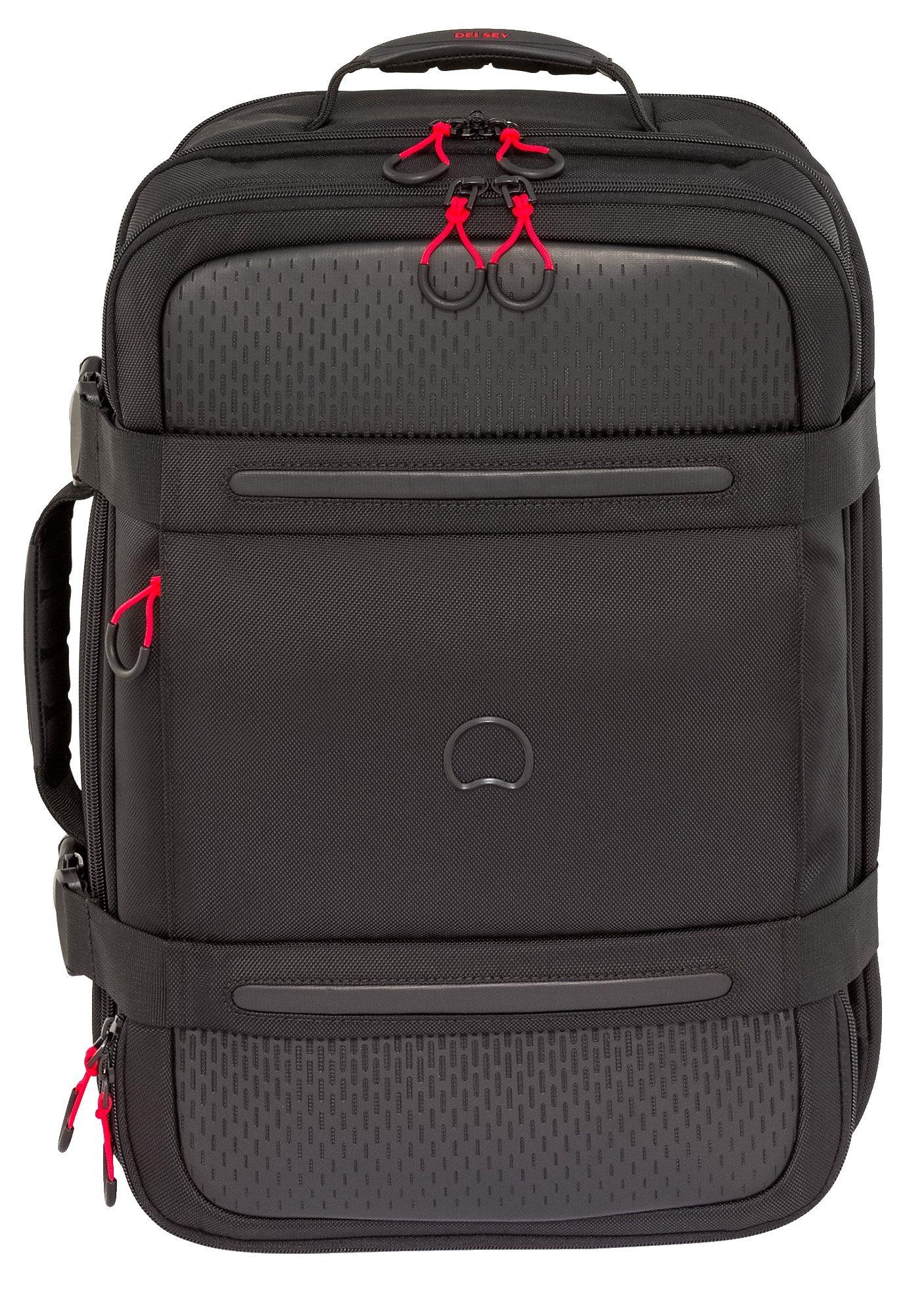 DELSEY Rucksack/Koffer mit 17,3-Zoll Laptopfach, »Montsouris«