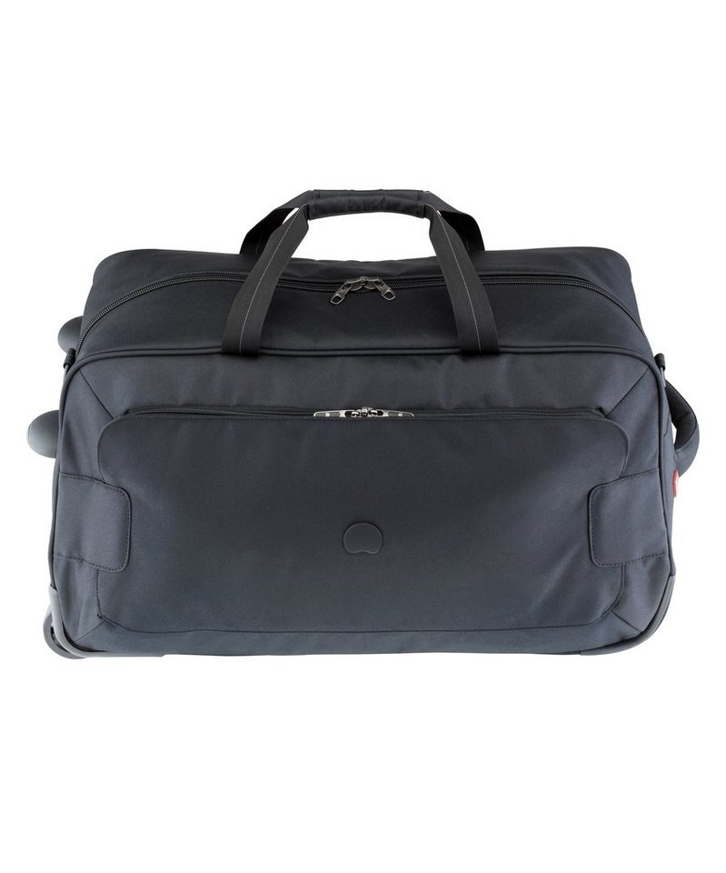 DELSEY Reisetasche mit 2 Rollen, Trolleyfunktion und Schultergurt, »Tuileries« in schwarz
