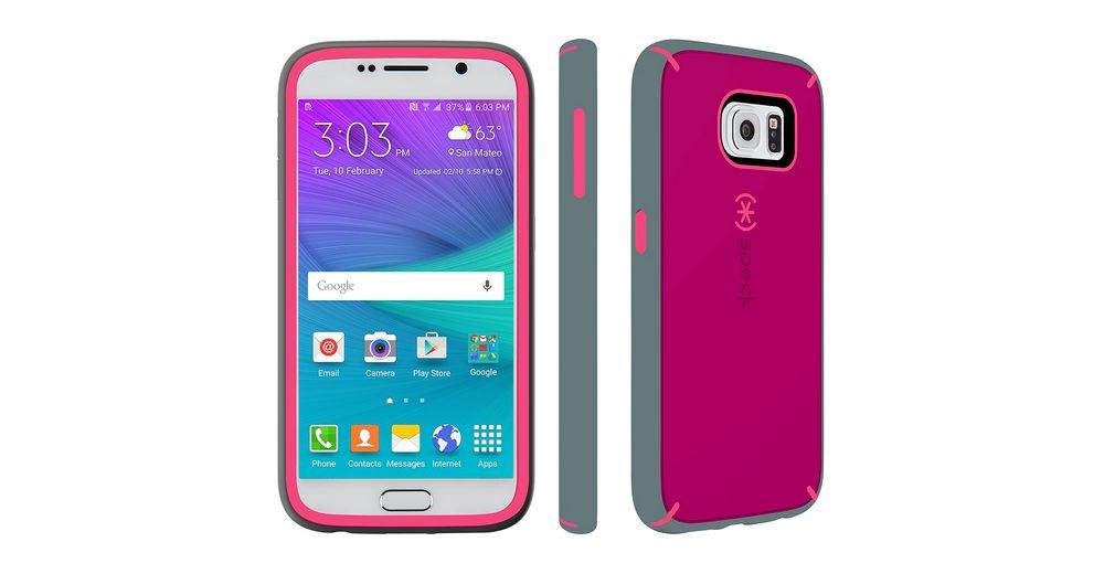 Speck HardCase »MightyShell Samsung Galaxy S6 Fuchsia Pink/Cupcake«