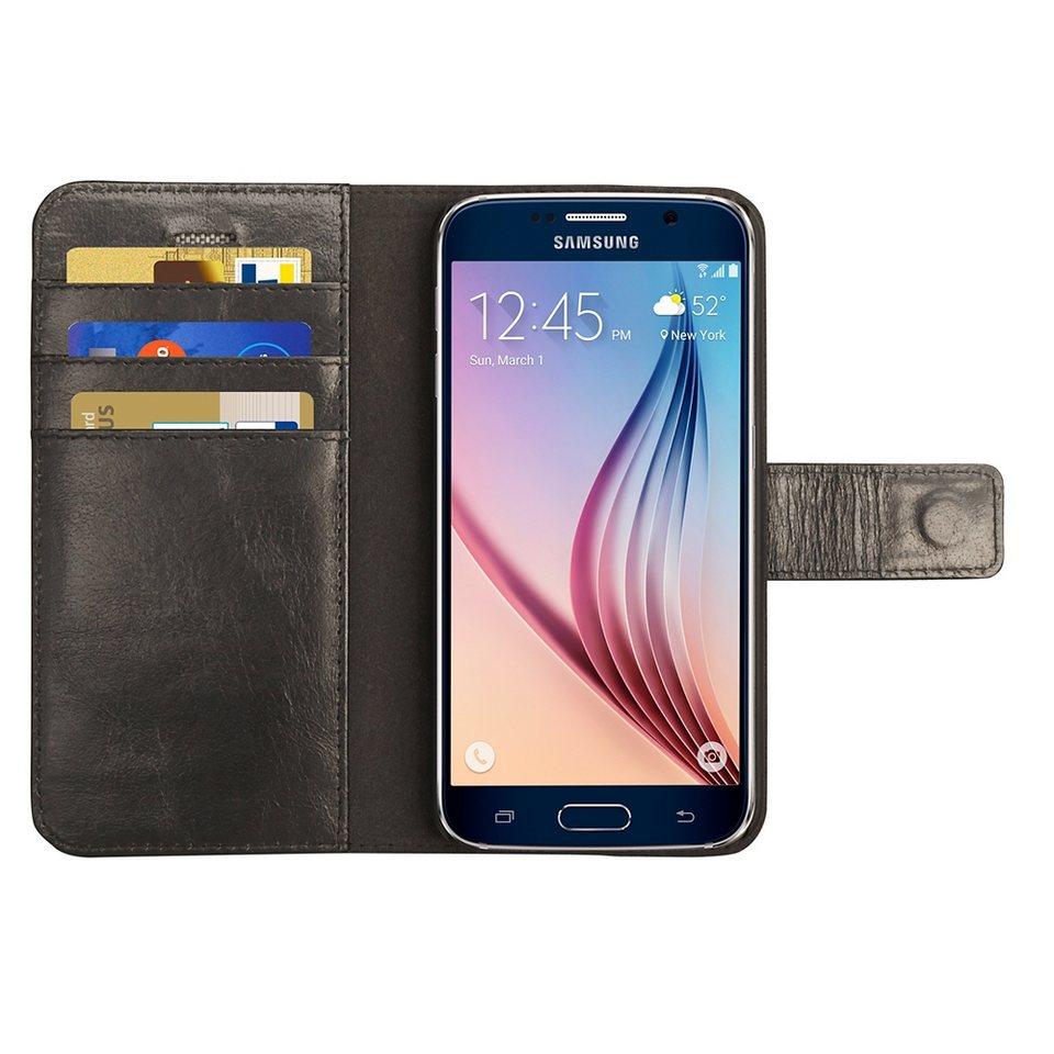 dbramante1928 LederCase »Folio Lynge Samsung Galaxy S6 Black« in schwarz