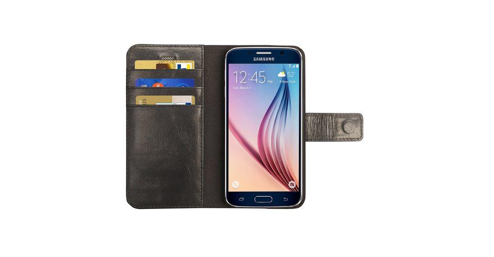 dbramante1928 LederCase »Folio Lynge Samsung Galaxy S6 Black«