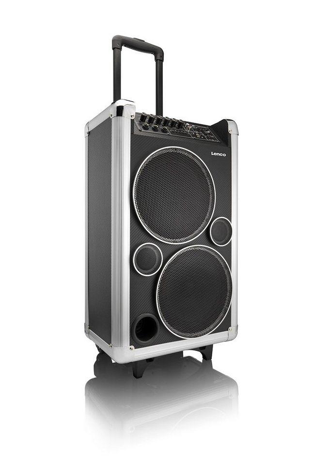 Lenco Bluetooth Soundanlage »PA-95« in schwarz