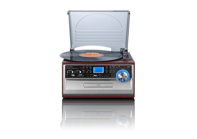 Lenco Plattenspieler mit CD/MP3-Player & UKW/MW-Radio »TCD-974«