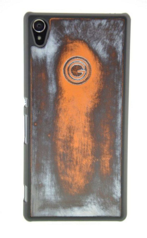 Galeli Handytasche »Back Case FUNKY für Sony Xperia Z5« in Orange