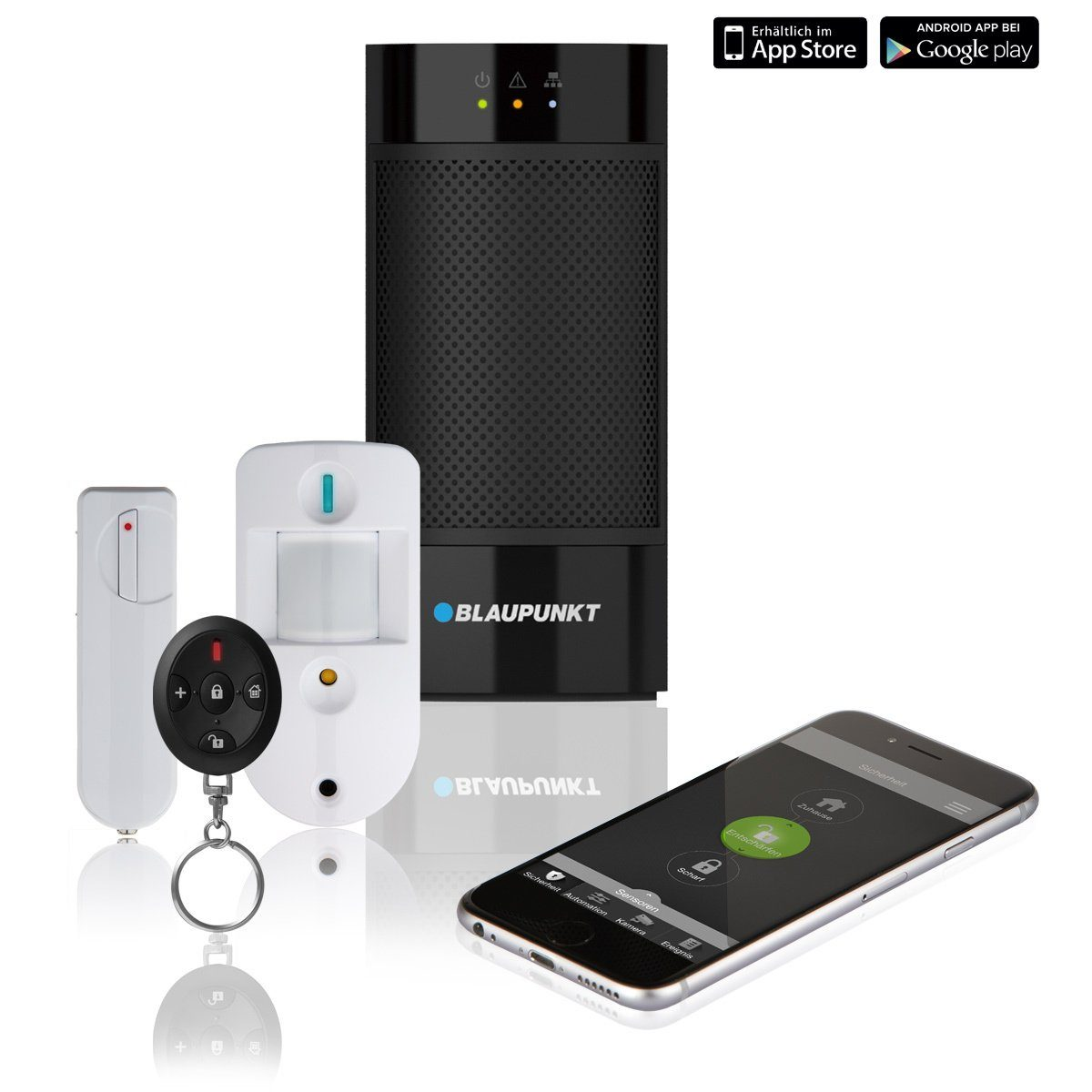 Blaupunkt Smarthome Zubehör »Q3200 Starterkit Alarmanlage«