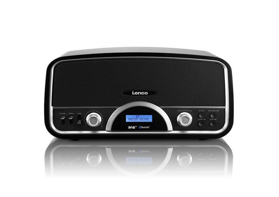 Lenco Bluetooth und DAB+ Radio »DR-05 BT« in schwarz