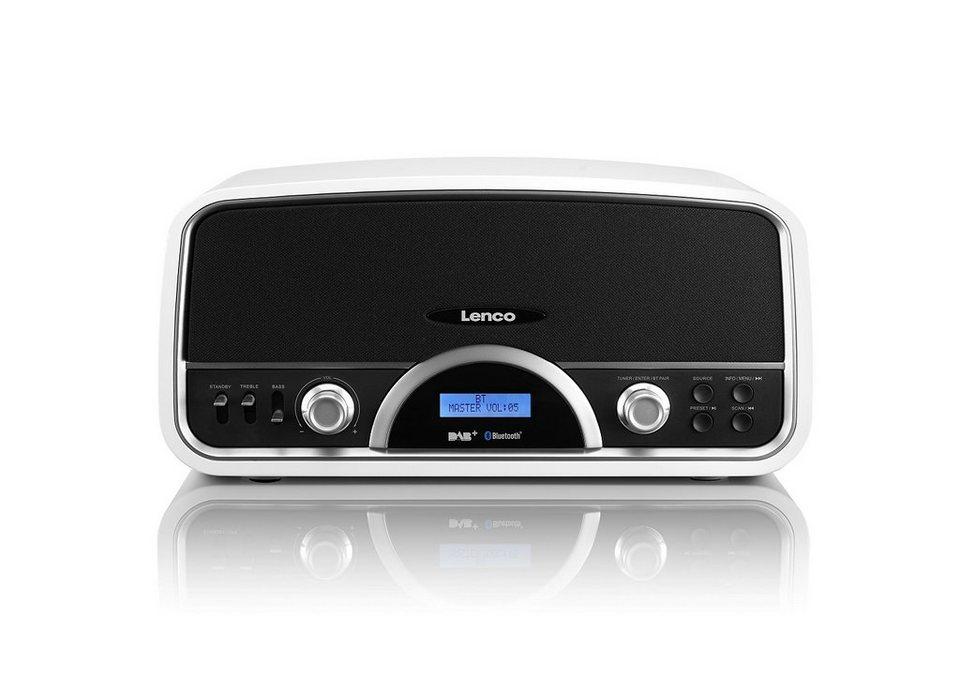 Lenco Bluetooth und DAB+ Radio »DR-05 BT« in weiss