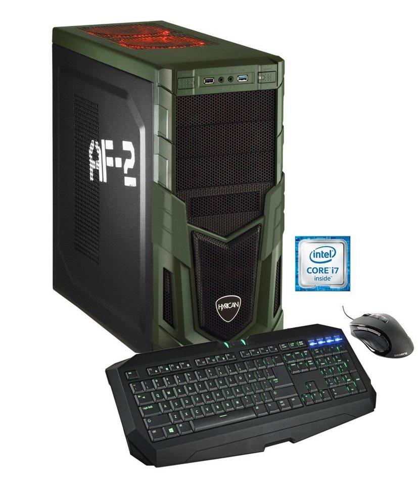 Hyrican Gaming PC Intel® i7-6700K, GeForce GTX 970, Windows 10 »Military Gaming 5020 OC Edition«