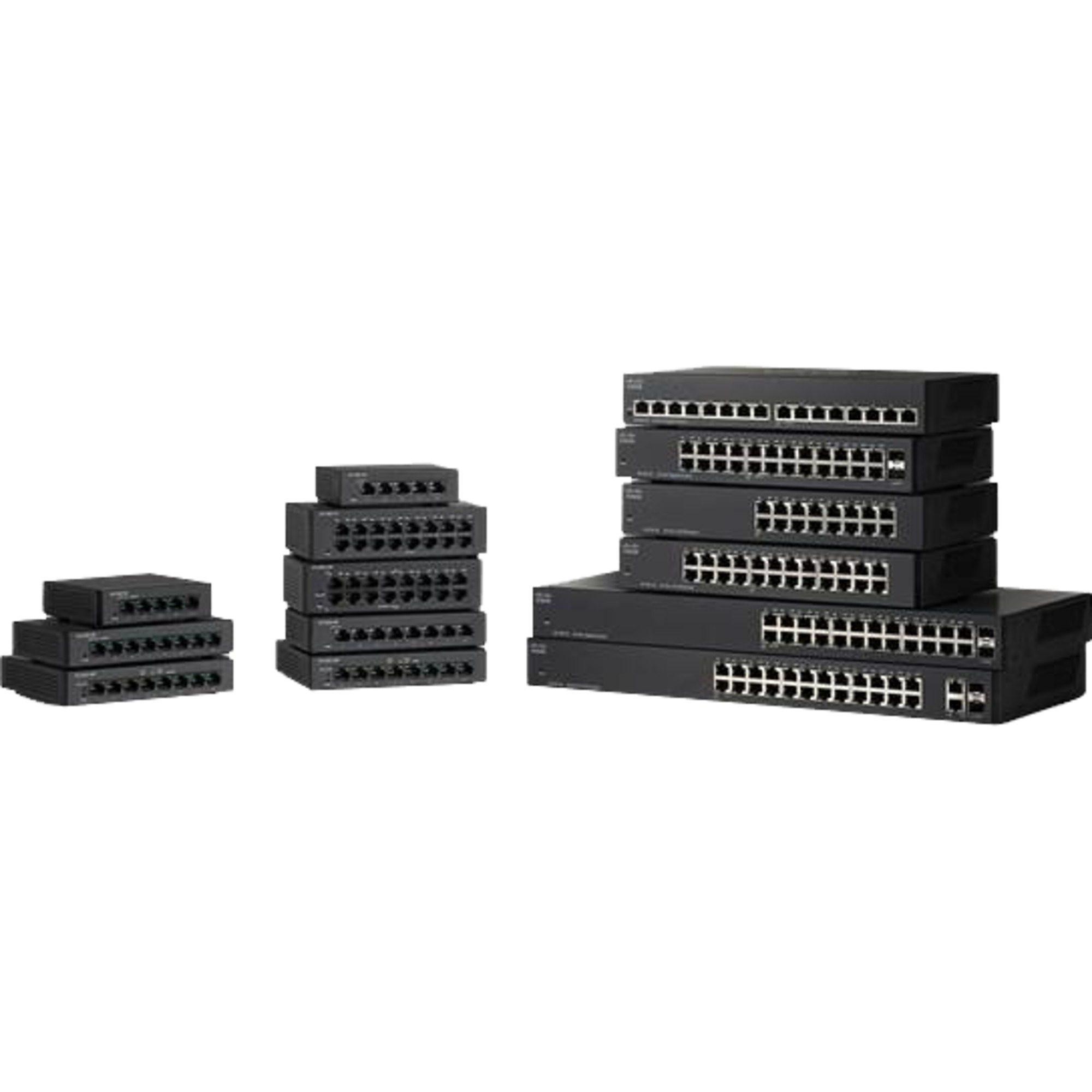 Cisco Switch »SG110D-08HP 32W/1000/UNM/ 8«