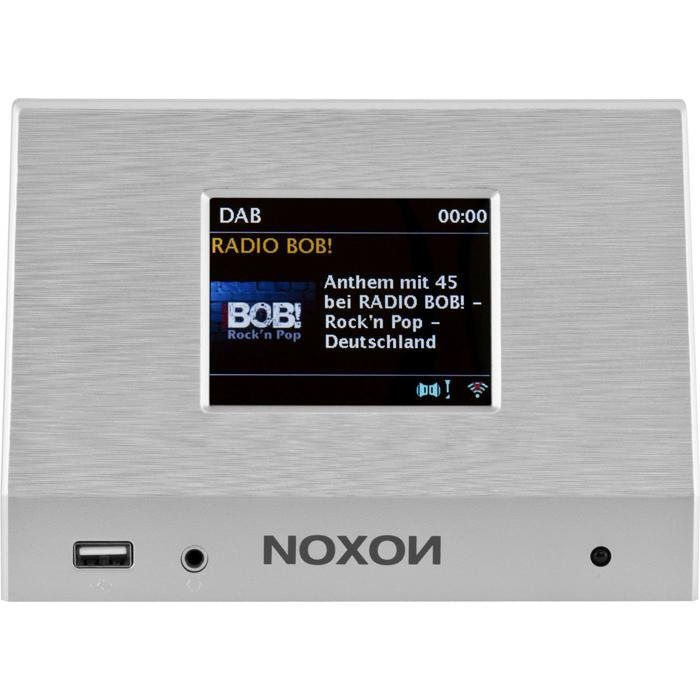 NOXON Universeller Audioadapter »A110+« in silber