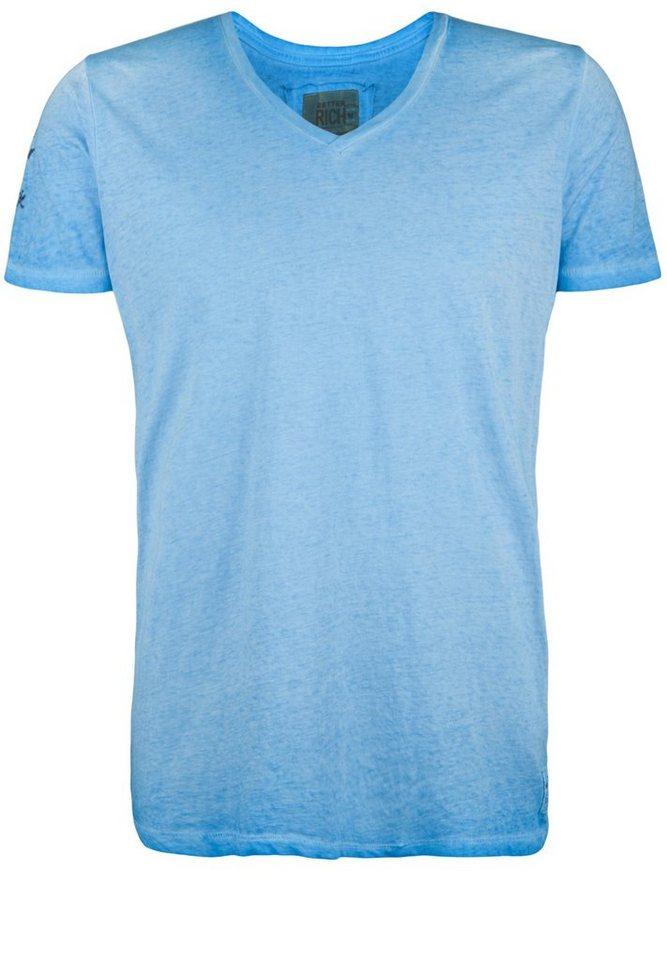 Better Rich T-Shirt »V-NECK CLUB« in bonnie