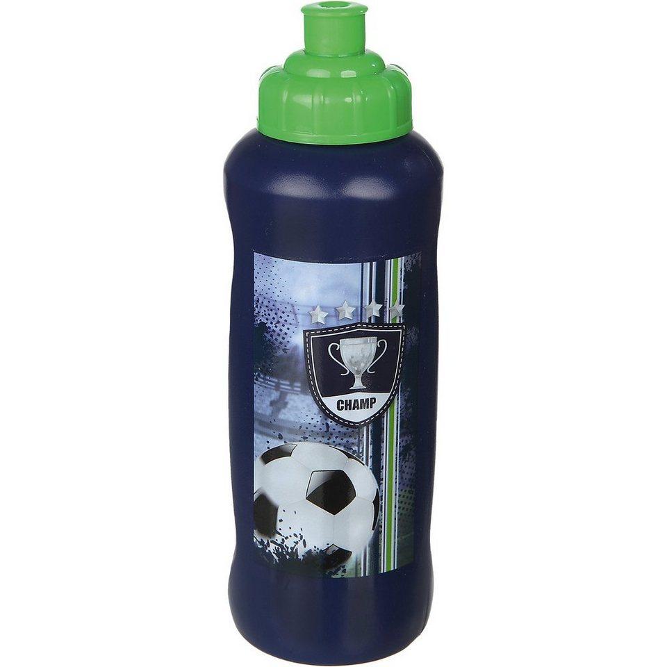 SCOOLI Trinkflasche Fußball, 450 ml