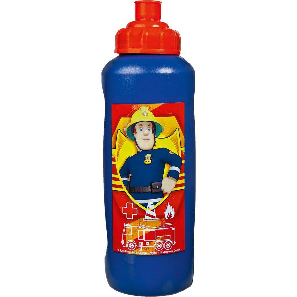 SCOOLI Trinkflasche Feuerwehrmann Sam, 450 ml