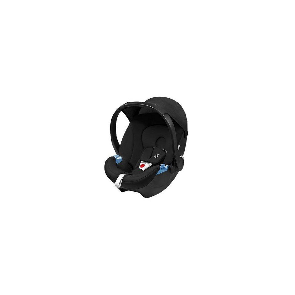 Cybex Babyschale Aton Basic, Pure Black, 2017 in schwarz