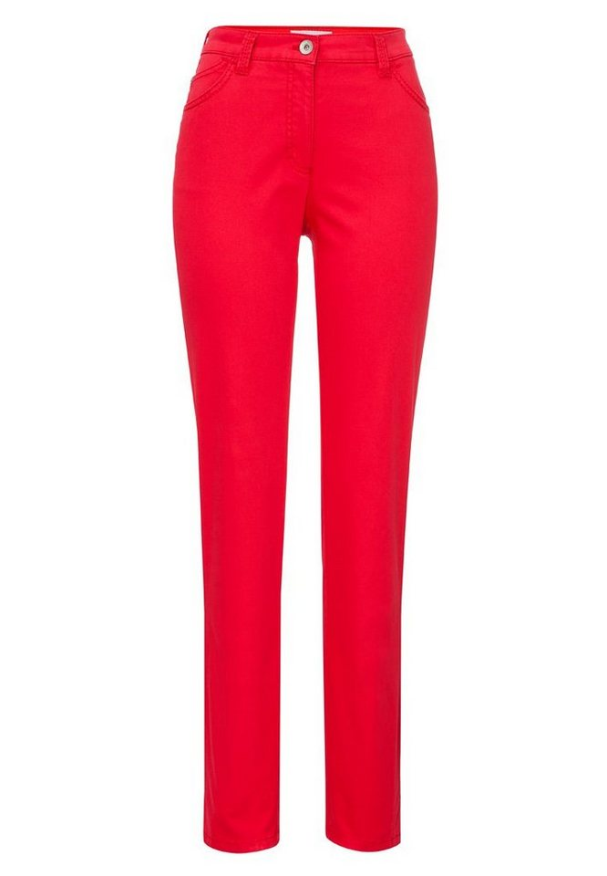 BRAX Damenhose Five-Pocket »MARY SPORT« in RED