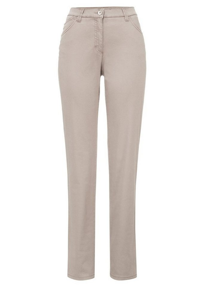 BRAX Damenhose Five-Pocket »CAROLA SPORT« in LIGHT TAUPE