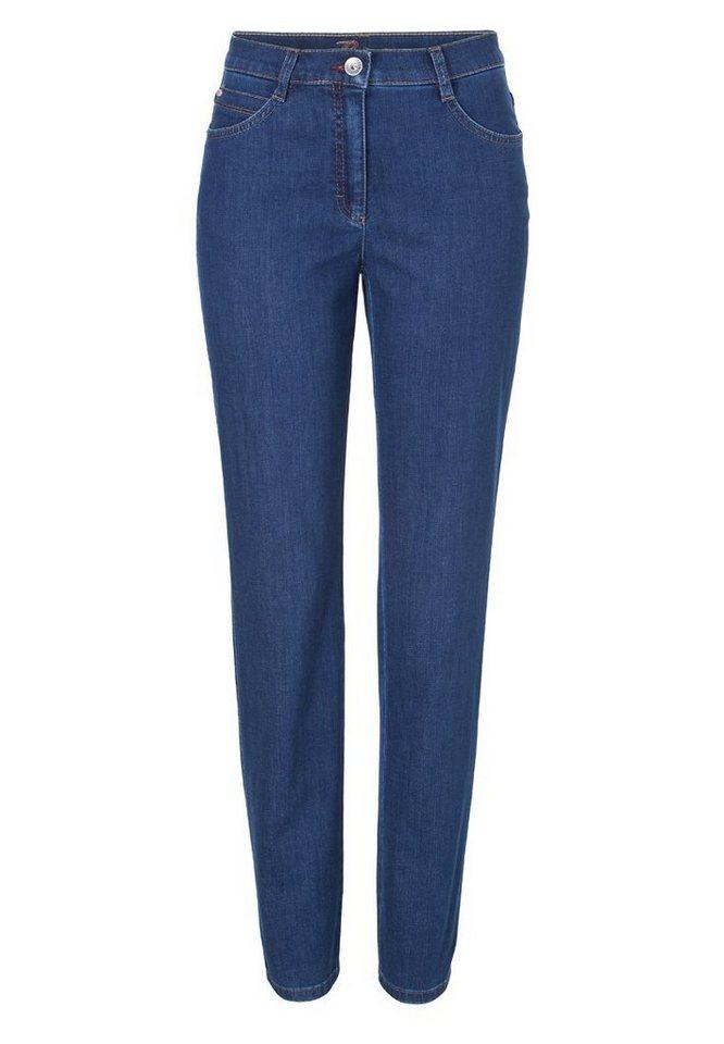 BRAX Damenjeans Five-Pocket »CAROLA CRYSTAL« in REGULAR BLUE