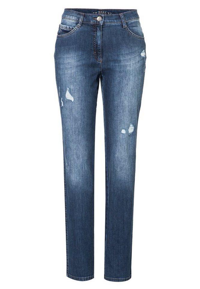 BRAX Jeans »CAROLA GLAM« in REGULAR BLUE