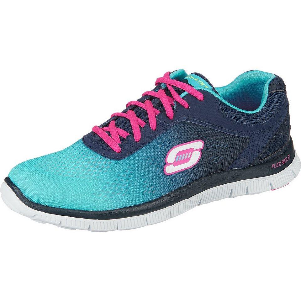 SKECHERS Flex AppealStyle Icon Sneakers in blau