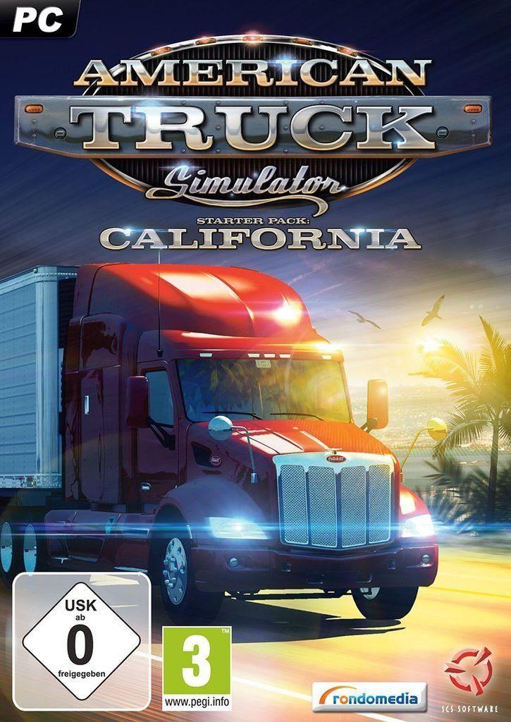 Rondomedia PC - Spiel »American Truck Simulator-Starter Pack:California«