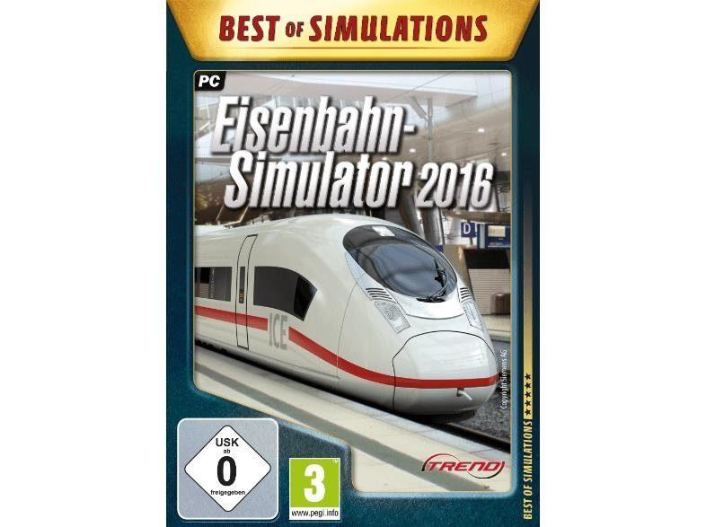 astragon PC - Spiel »Eisenbahn Simulator 2016«