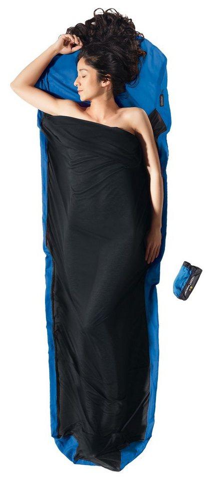 Cocoon Schlafsack »MummyLiner Inlet Ripstop Silk/Thermolite« in blau