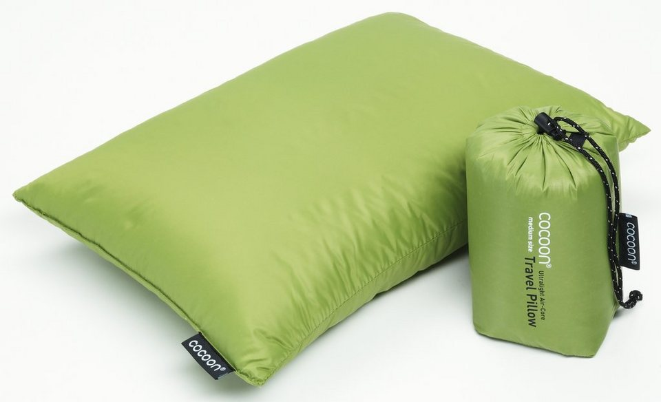 Cocoon Reisekissen »Travel Pillow Down Fill 29x38cm« in grün