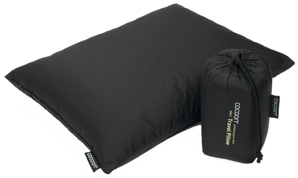 Cocoon Reisekissen »Travel Pillow Down Fill 33x43cm« in schwarz