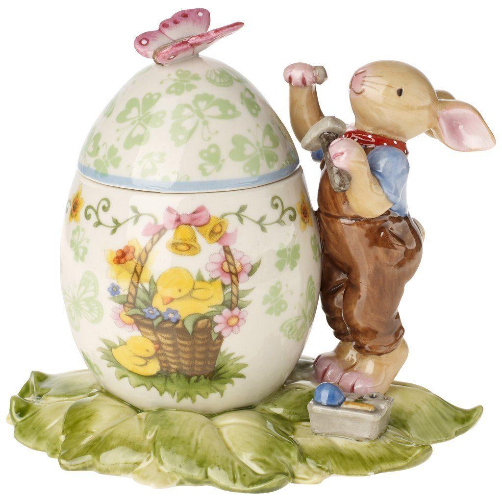 VILLEROY & BOCH Osterei-Dose Hasenjunge hämmert 13x »Bunny Family«