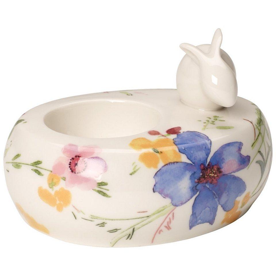 VILLEROY & BOCH Teelichthalter 10x8x8cm »Mariefleur Spring« in Dekoriert
