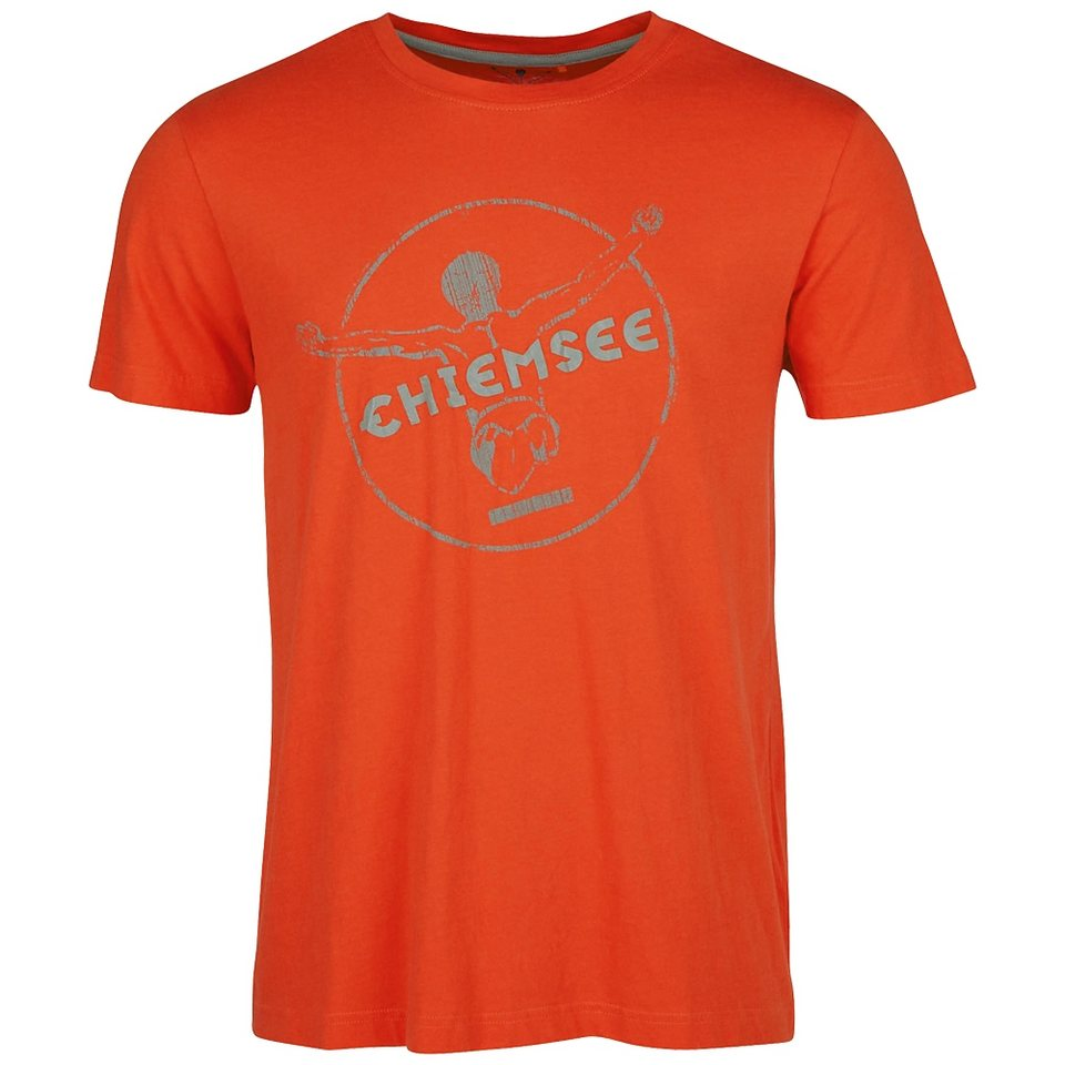 Chiemsee T-Shirt »EBERHARD 2« in red clay