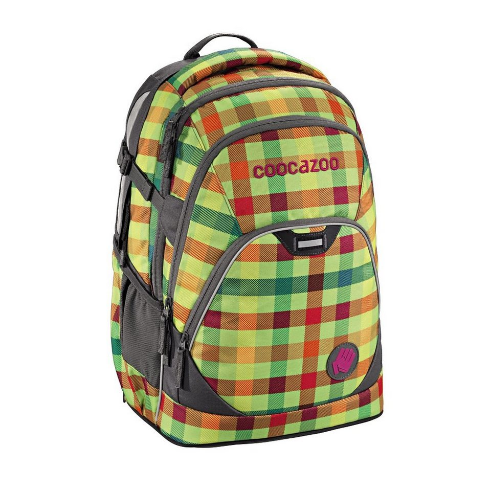 "Coocazoo Rucksack ""EvverClevver2"" mit Laptopfach »Hip To Be Square Green«"