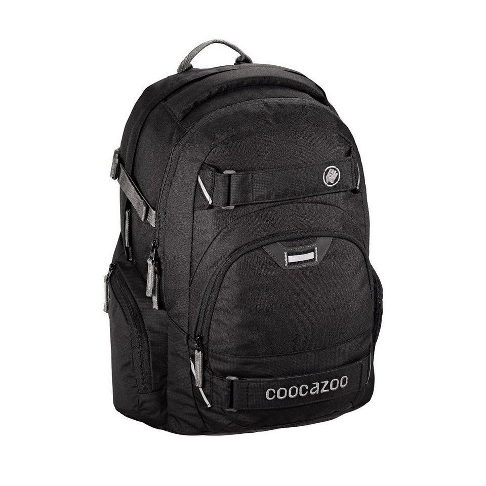 coocazoo rucksack carrylarry2 mit laptopfach beautiful black au enma e 30 x 44 x 21 cm. Black Bedroom Furniture Sets. Home Design Ideas
