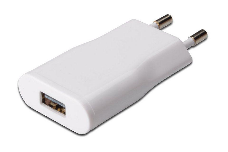 Ednet Ladegerät »USB Slim Type Ladegerät Adapter«