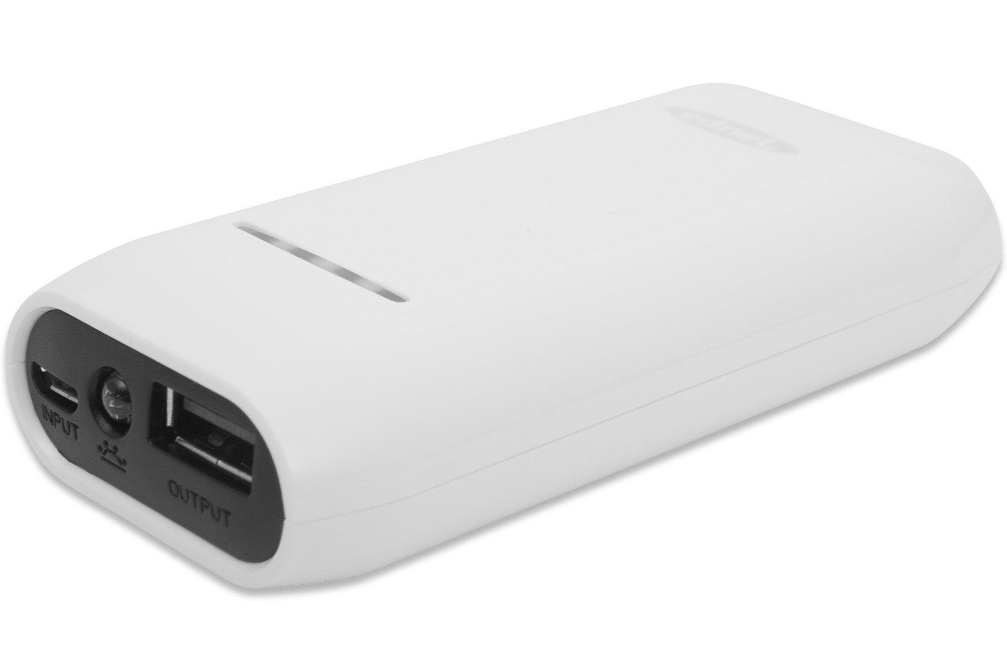 Ednet Powerbank »Power Bank 4400mAh Weiß«