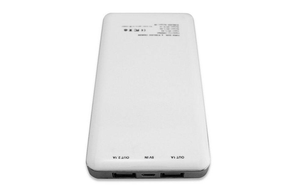 Ednet Powerbank »Power Bank (8000mAh) mit Induktions-Ladefunktion«