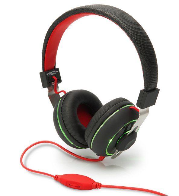 Ednet Kopfhörer »BeatLight On-Ear Kopfhörer schwarz«