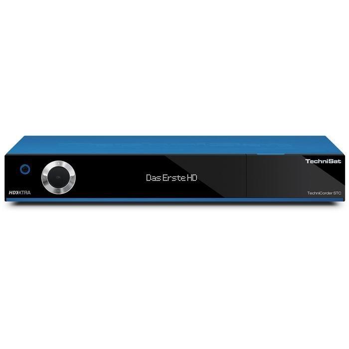 TechniSat HDTV-Digitalreceiver mit Doppel-QuattroTuner »TechniCorder ISIO STC« in blau