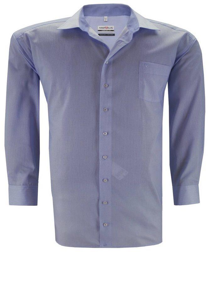 marvelis Hemd in Blau