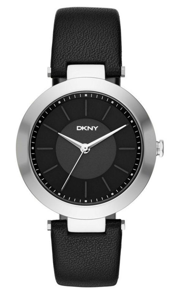 DKNY Quarzuhr »STANHOPE, NY2465« in schwarz