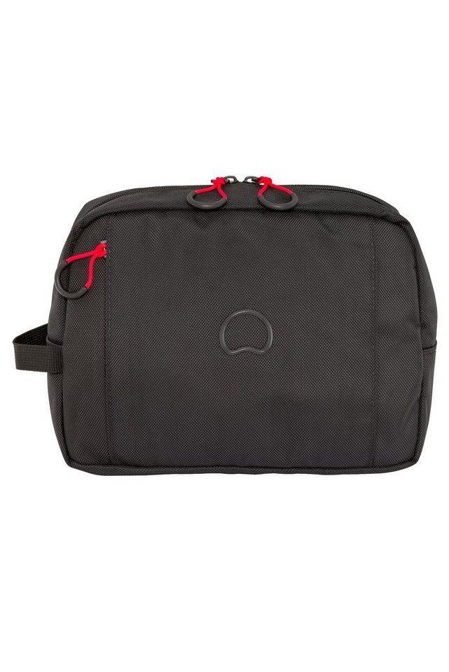 DELSEY Kulturtasche mit Reißverschluss, »Montsouris« in schwarz