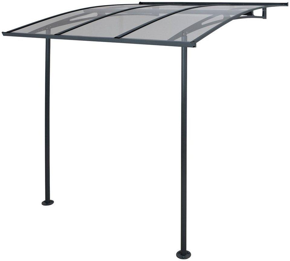 Türvordach / Mini-Terrassendach »Vega« in grau
