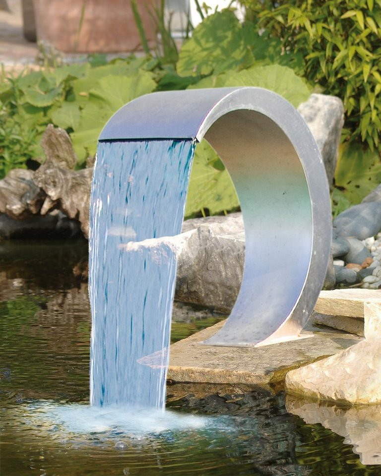 Wasserfall »Mamba« in silberfarben