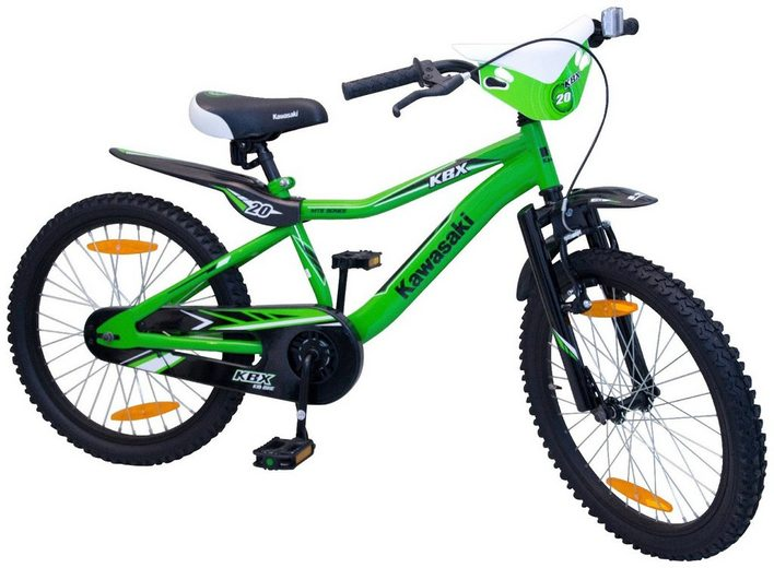 kawasaki kinderfahrrad jungen kbx 20 zoll 1 gang. Black Bedroom Furniture Sets. Home Design Ideas