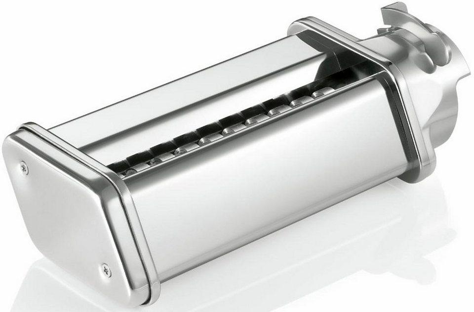 Bosch Tagliatelle-Vorsatz MUZ5NV2: Zubehör für Bosch MUM5… in metallic